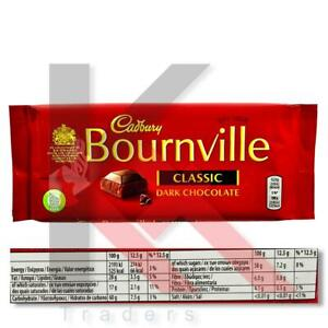 Cadbury Bournville Classic Dark Chocolate For ALL OCCASIONS  PACK 1,4 100g