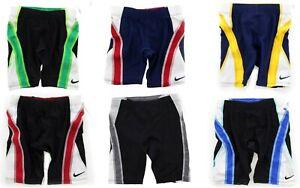Nike Swim Jammer Men's Team Color Block Swim Shorts Swimming Bottom TESS0047