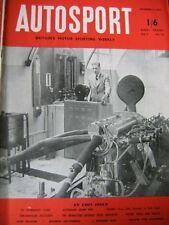 Autosport diciembre 4th 1953 * * la Historia Connaught