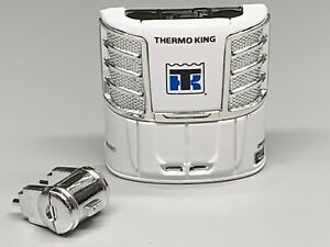 1/64 DCP PARTS WHITE/CHROME THERMO-KING REEFER UNIT W/ FUEL TANK