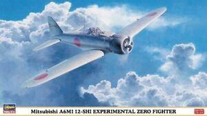 Hasegawa 1/48 Mitsubishi A6M1 12-SHI Experimental ZERO Fighter 09840 Plastic Mod