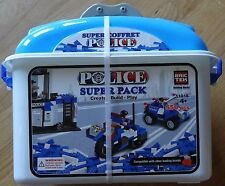 Police Super Pack Bric Tek Building block brick set 10 model 11015