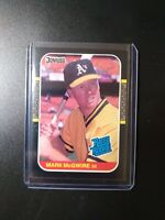 1987 Donruss Mark Mcgwire Rated Rookie #46 Oakland Athletics