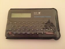 Seiko SII English-Spanish Pocket Translator TR-2200 Vintage 1983