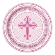 Art de la table de fête assiettes rose pour la cuisine