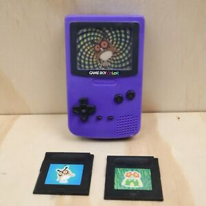 2000 Burger King Pokemon Nintendo Gameboy Color Purple Hoot Hoot Plastic Toy