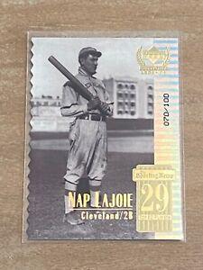 1999 Century Legends #29 Nap Lajoie Die Cut /100!