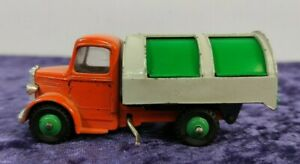 vintage DINKY TOYS No 252 Diecast 1960'S BEDFORD REFUSE WAGON, original, working