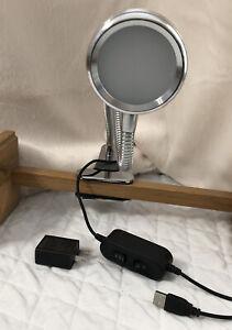 LEDPOWER Chrome High Power LED Clip Lamp Light. Model:908A