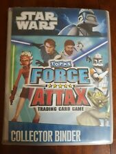 Topps Star Wars Force Attax Attack of the Clones complete set with bonus