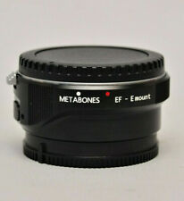 Metabones Canon EF Lens to Sony NEX Smart Adapter (Mark III) (Usato Garantito)