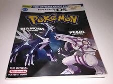 Pokemon Diamond & Pearl Official Players Guide Nintendo DS