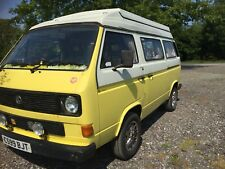 VW T25 Campervan, Pop Top, Triple Bike Rack, and 2 drive-away awnings included