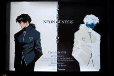 NEON GENESIS EVANGELION: KAJI ORIGINAL VINTAGE ANIME POSTER JAPAN 73x51,5cm 4580