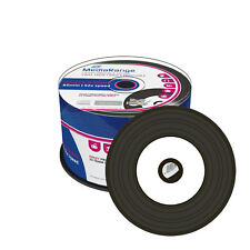 MR226] 50 x Mediarange CD-R vinilo imprimible, negro dye Bedruckbar 52x Gravable