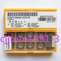 10PCS/box NEW original Mitsubishi CNC blade CCMT120404 UC5115
