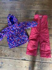 Columba Buga Ski Jacket And salopettes Age 3 (3T) Snow Suit Girls
