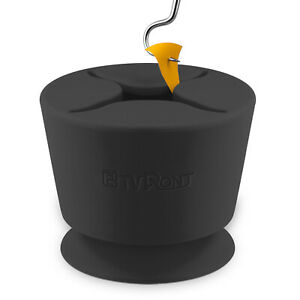 HTVRONT Black Vinyl Tools, Weeding Scrap Collector, Waste Silicone Suction Cup