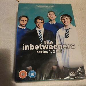 The Inbetweeners Series 1   2 , 3 Dvd Box Set. New + Sealed.
