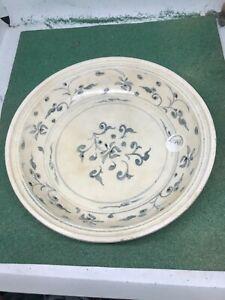 Hoi An Hoard Shipwreck antique large bowl deep dish plate 15th Century