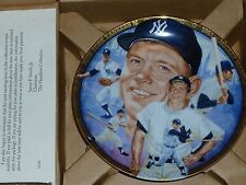 Mickey Mantle Hamilton Collection Plate #1540
