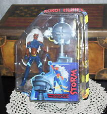 STORM ACTION FIGURE SPINNING WEATHER STATION LIGHTNING