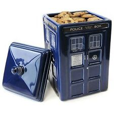 Doctor Who TARDIS Ceramic Cookie Jar officially licensed DR