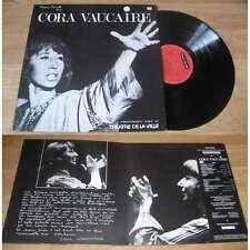 CORA VAUCAIRE - Enregistrement Public Au Théâtre De La Ville LP Disque Canetti