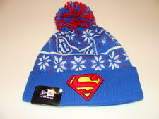 New Era Cap Hat Toque Beanie Star Wars Pom Knit Christmas Sweater Superman Comic