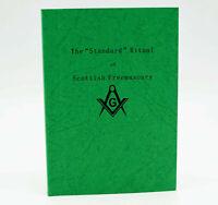 Scottish Masonic Standard Ritual for Craft and Mark Ceremony