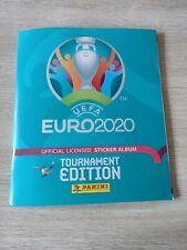 ALBUM Panini EURO 2020 tournament edition ( blue version belgium)