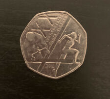 Commonwealth Games 50p Fifty Pence coin