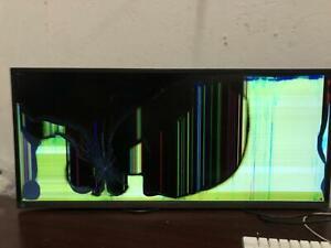 """Samsung 34"""" SJ55W Ultra WQHD Monitor LED HDMI Display Port LS34J550WQNXZA READ"""