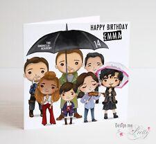 The Umbrella Academy Personalised Birthday Card