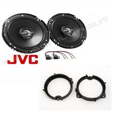 Coppia casse JVC + supporti FIAT GRANDE PUNTO 2 VIE portiere posteriori 16,5cm