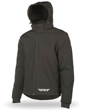 Fly Racing Armored Tech Hoody Motorcycle Street Riding Gear (Large)