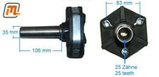 cardan shaft (propshaft) joint gearbox flange to gearbox (Ø35m FORD Cortina MK3