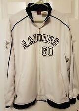 Vintage Oakland Raiders NFL Reebok Gridiron Classic Full Zip Jacket Size M