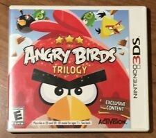 Nintendo 3DS 2012 Angry Birds Trilogy Playable in 2D & 3D Mode