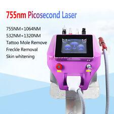 Picosure Laser Vertical Spot Pore Tattoo Removal Skin Whitening Beauty Machine