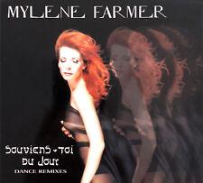 Mylène Farmer Maxi CD Souviens-Toi Du Jour (Dance Remixes) - France (EX+/EX+)