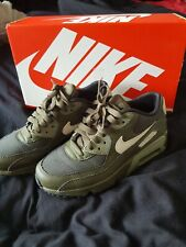 Green/khaki  Nike Air Trainers Size 3 hardly worn
