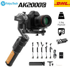 New FeiyuTech AK2000C Handheld Gimbal Stabilizer for DSLR Mirrorless Cameras UK