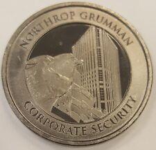 Northrop Grumman Corporate Security Executive Protection Challenge Coin