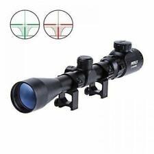 Air Rifle Scope Night Vision Airsoft Sniper Pellet Gun BB Blue Reticle 3-9x40 E