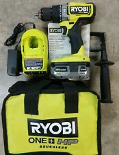 New Ryobi 18v One Hp Hammer Drill Kit With 40ah Battery Amp Charger Model Plhm101