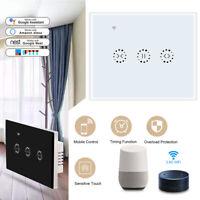 AU/US WiFi Curtain Switch Controller Roller Shutter Timer For Echo Google Alexa