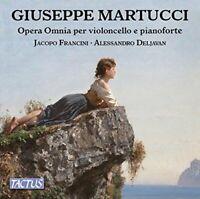 Jacopo Francini - Martucci:Cello/Piano Works [Jacopo Francini; [CD]