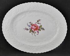 "Spode Bridal Rose Oval Platter (15"" by 12"")"