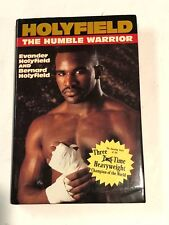 Holyfield Humble Warrior Boxing Champion by Evander Holyfield SIGNED 1996 HCDJ